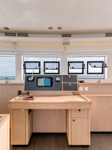 Lagoon nav station. Not really something, that charter folks want to bother with!