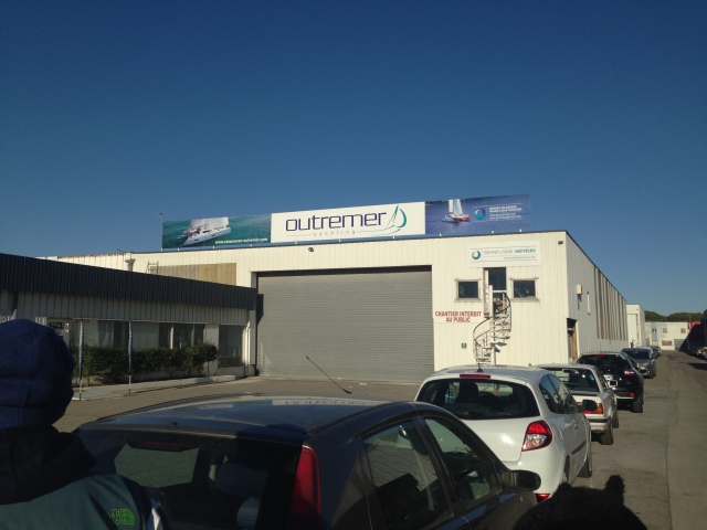 Outremer Yachting - This is where all the boats are built. They are currently launching a new boat every month, and plan to increase the number in 2015