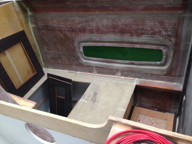 Cabin floor fitout