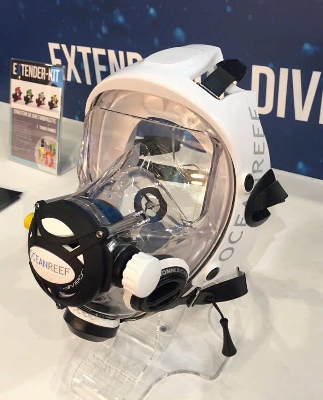 Here's the state of the art in dive masks